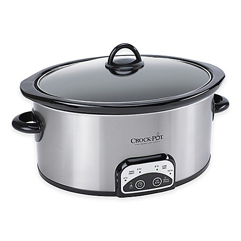 CrockPot® 4 qt. SmartPot Digital Slow Cooker  Bed Bath amp; Beyond