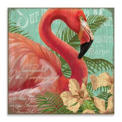 Key West I 24-Inch x 24-Inch Embellished Canvas Wall Art