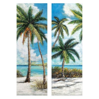 Holiday Panel Canvas Art (Set of 2)