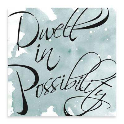 Possibility Canvas Wall Art