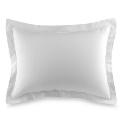 Diamond Matelasse Standard Sham in White