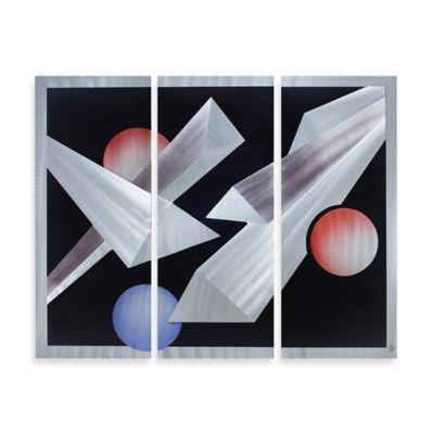 Nova Lighting Billiards 3-Piece Wall Art