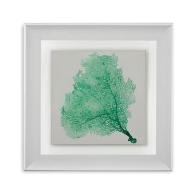 Sea Fan VII Framed Wall Art