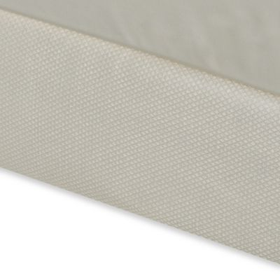 Diamond Matelasse Twin Box Spring Cover in Ivory
