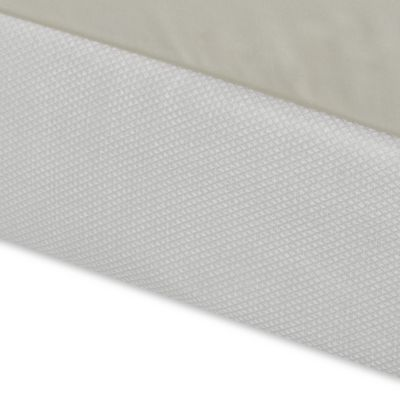 Diamond Matelasse King Box Spring Cover in White