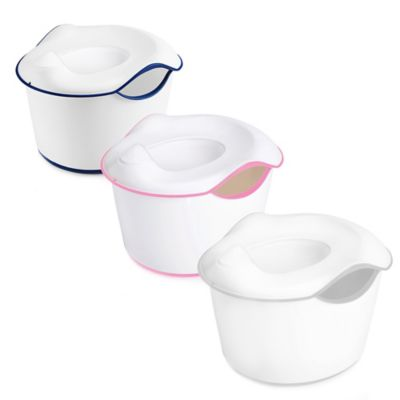 Ubbi® 3-in-1 Potty in White/Pink