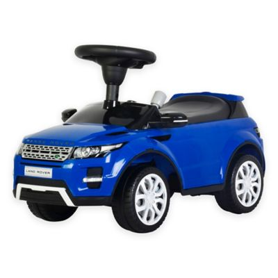 Blue Baby Toy Cars