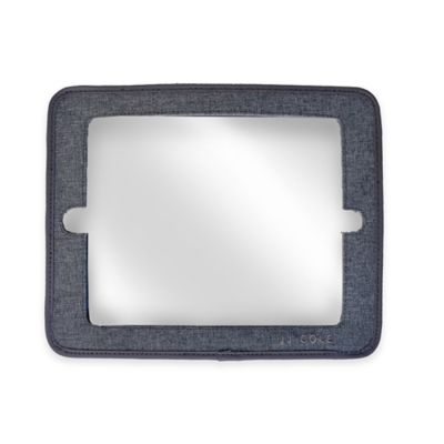 JJ Cole® 2-in-1 Headrest Mini Mirror with Grey Heather Frame