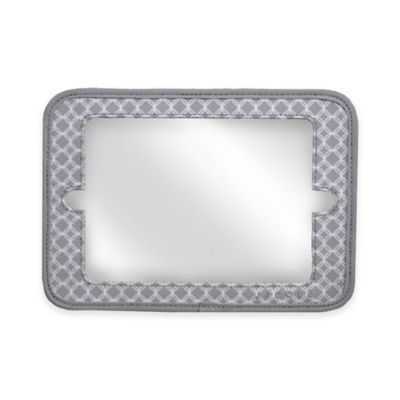 JJ Cole® 2-in-1 Headrest Mini Mirror with Grey Circle Frame