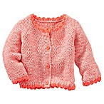 OshKosh B'gosh® Size 6M Marled Cardigan in Orange