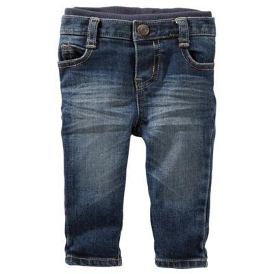 OshKosh B'gosh® Size 6M Medium Faded Pull-On Jeans