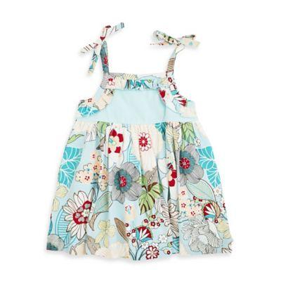 Aqua Strap Dress
