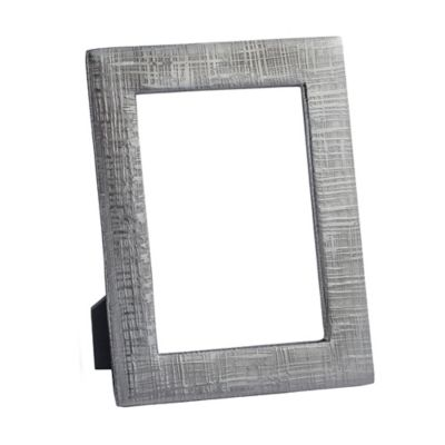 Simplydesignz Kanji 5-Inch x 7-Inch Picture Frame in Carbon Black