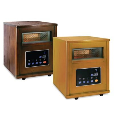 Comfort Zone® Large Infrared Cabinet Heater in Oak