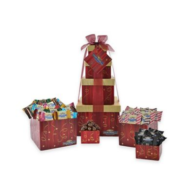 Ghirardelli® Festive Flavors 4-Tier Gift Tower