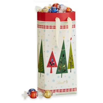 Lindt Lindor Holiday Trees Gift Bag