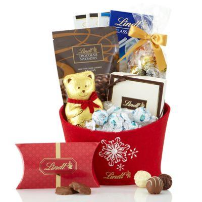 Lindt Favorite Selections Holiday Gift Basket