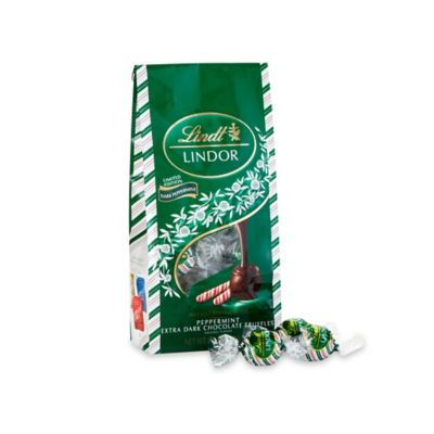 Lindt Lindor 45-Count Peppermint Extra-Dark Chocolate Truffle Seasonal Bag