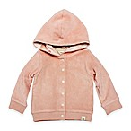 Burt's Bees Baby® Size 9M Organic Cotton Knit Terry Jacket in Peach