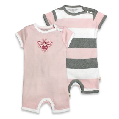 Pink/Grey Stripe Baby & Kids