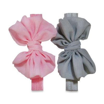 Grey/Pink Hair Accessories