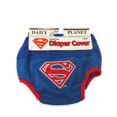 DC Comics™ Superman Diaper Cover in Blue/Red