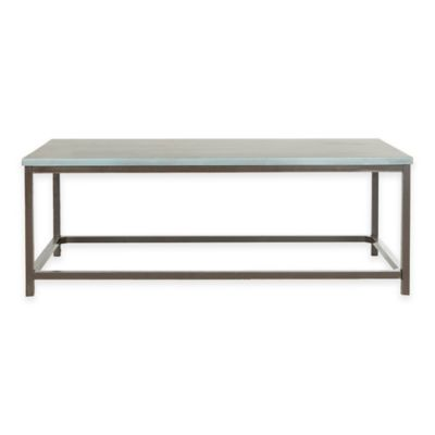 Safavieh Alec Coffee Table in Barn Blue