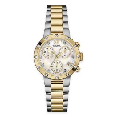 Bulova Ladies Diamond Watch Women's Watches