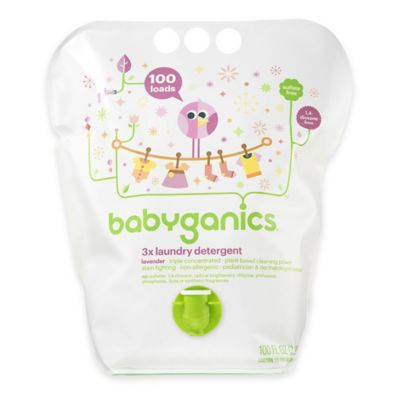 Babyganics® 100 oz. Lavender 3x Laundry Detergent
