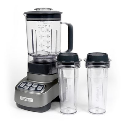 Cuisinart Velocity Ultra 1 HP Blender with 2 Travel Cups