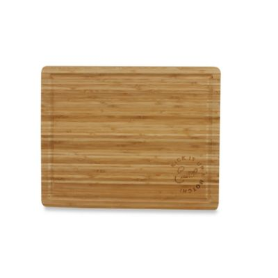 "Emeril ""Kick it Up a Notch"" 12-Inch x 18-Inch Bamboo Cutting Board"