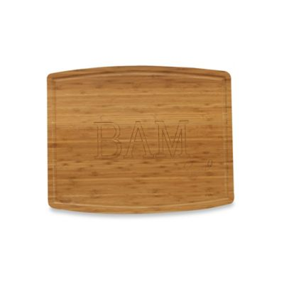"Emeril ""BAM"" 16-Inch x 20-Inch Bamboo Cutting Board"