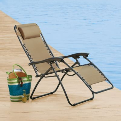 Relaxer Zero Gravity Chair in Tan