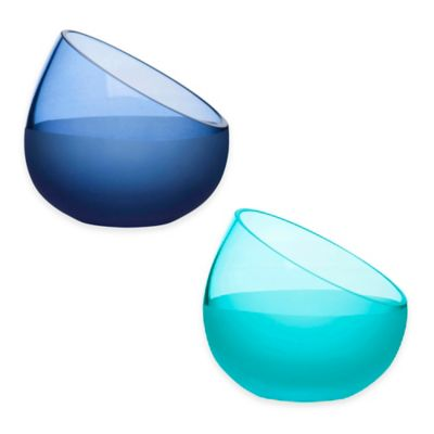 Sagaform® Sea Snack Bowls in Turquoise (Set of 2)