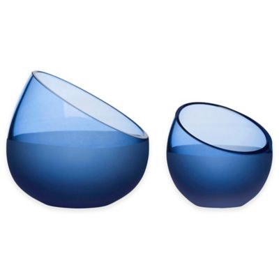 Sagaform® Sea Snack Bowls in Blue (Set of 2)