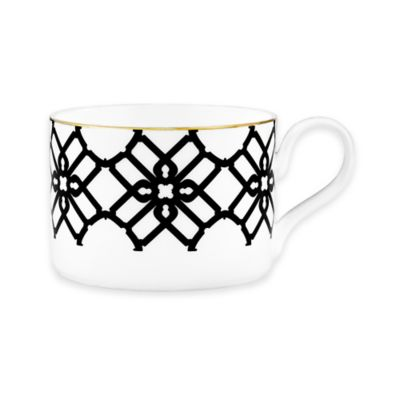 B by Brandie™ Grande Truman Teacup in Black/Gold