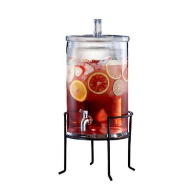 Style Setter 2.5-Gallon Beverage Dispenser with Stand