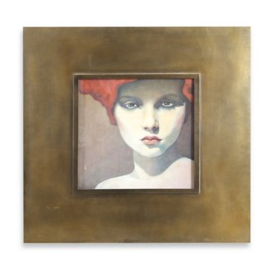 Uttermost Looking at You Framed Wall Art