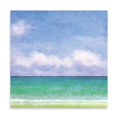 Into The Blue I Canvas Wall Art