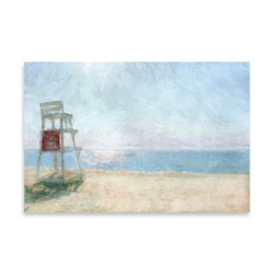 Beach Lookout Canvas Wall Art