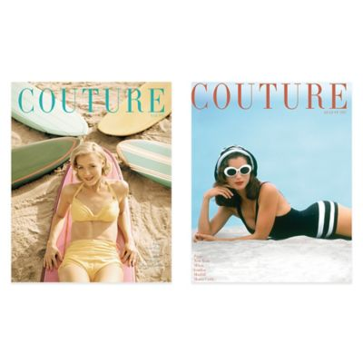 Couture August 1947/May 1951 Canvas Wall Art (Set of 2)