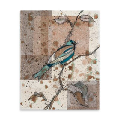 Dust Storm 1 Embellished Canvas Wall Art