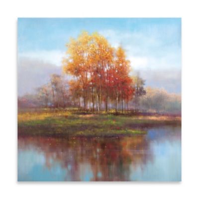 Repose Embellished Canvas Wall Art