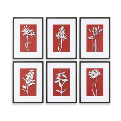 Floral Glass Wall Art
