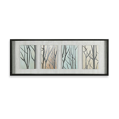 Buy tree trunks on display shadow box wall art from bed for Tree trunk wall art