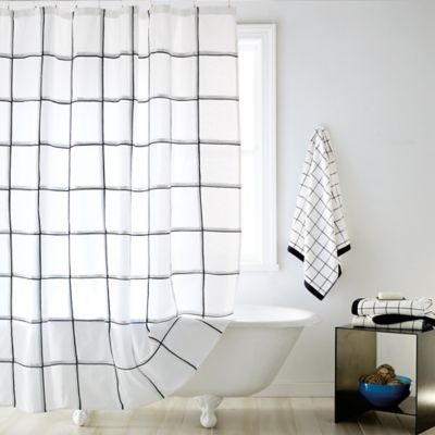 DKNY Tompkins Square Shower Curtain