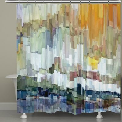 Laural Home® Glacier Bay Shower Curtain