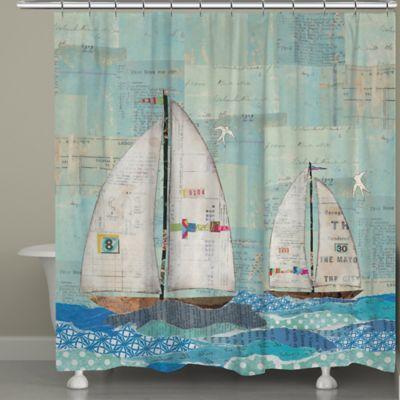 Laural Home® At the Regatta Shower Curtain