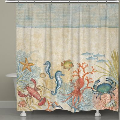 Laural Home® Oceana Shower Curtain