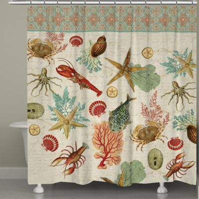 Laural Home® Beyond the Surf Shower Curtain
